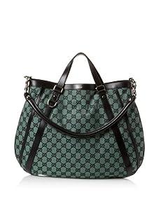 Gucci Women's Top Handle Hobo, Green