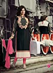 Shreeji Fashion Ayesha Takia Heavy Black Long Salwar Kameez