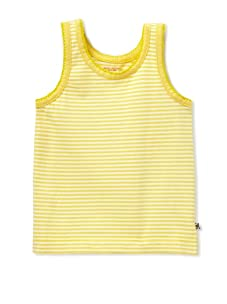 Pink Chicken Girl's Joy Stripe Tank (Yellow/White)