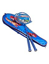 Hot Wheels Badminton Racket Combo Set, Blue