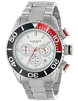 Akribos XXIV Men's AK512SS Conqueror Large Diver's Chronograph Bracelet Watch