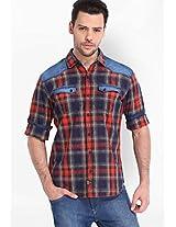 Checks Multi Colour Casual Shirt