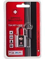 Swiss Military Silver Luggage Lock (LL-2)