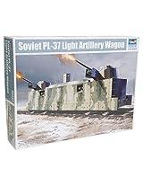 Trumpeter Soviet PL-37 Light Artillery Wagon Model Kit