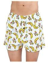 The Boxer Store's wild Banana Boxer for Men - White (Medium)