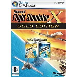 Microsoft Flight Simulator X Gold Edition (PC Game)