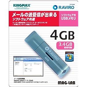 メール送受信ソフト搭載USBメモリー