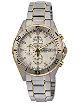 Citizen Analog White Dial Men's Watch - AN3464-55A