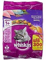 Whiskas Adult Cat Food Pocket Mackerel, 3.3 kg Pack