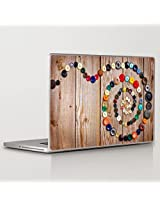 Theskinmantra Button Affair Laptop Skin Decal