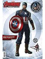 Aquarius Avengers 2 Captain America Desktop Standee