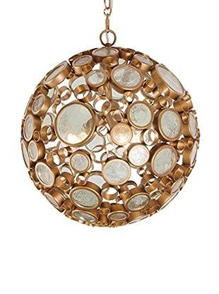 Varaluz Fascination 3-Light Orb Pendant, Hammered Ore