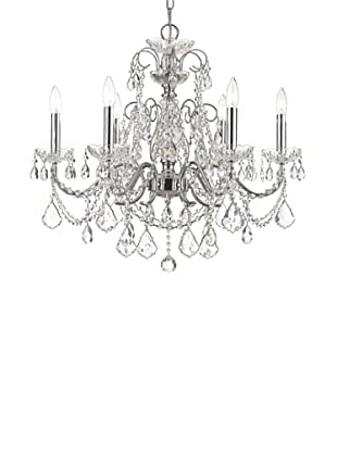 Gold Coast Lighting Elegant Chandelier, Polished Chrome