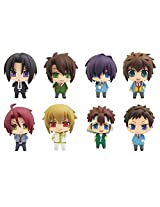 Hakuoki Color Collection Sweet School Life Series Mini PVC Trading Figure (1 Random Blind Box)