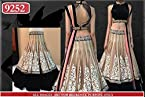 BFZ Designer Cream Color Net Fabric Party Wedding Wear Stunning Look Lehenga Choli