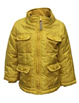 Gron Stockholm Boys' Jacket (GW-01_Yellow_7-8 Years)