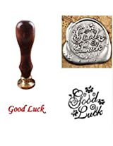 1pc Vintage Classic Sealing Wax Stamp Set with Gift Box (Good Luck)