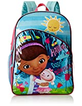 Disney Girl's Doc Mcstuffins 16In Backpack, Blue, One Size