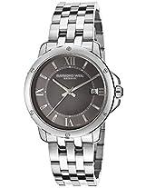 Raymond Weil Analogue Grey Dial Men's Watch - 5591-ST-00607