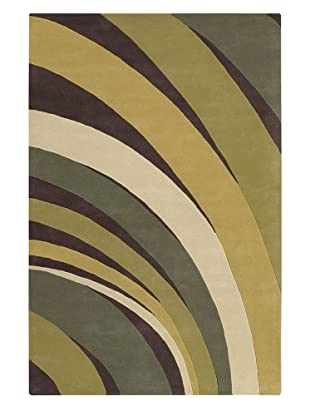 Chandra Counterfeit Studio Hand Tufted Wool Rug (Greener Pastures)