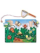 Magnetic Bug Catching Game + FREE Melissa & Doug Scratch Art Mini-Pad Bundle [37792]