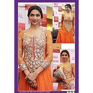Deepika Padukone Bollywood Style Dress