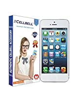 Cellbell Premium front and back Tempered Glass Screen Protector for Apple Iphone 5/5s (2.5D Curved Edges)(Clear)(Comes with Warranty)Complimentary Prep cloth