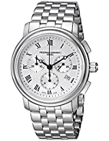 Frederique Constant Men's FC292MC4P6B2 Classics Analog Display Swiss Quartz Silver Watch