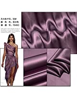 pinkish purple color, 16MM Charmeuse stain silk fabric 114cm width