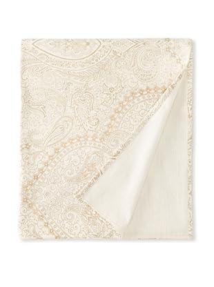 Filling Spaces Jayne Throw, Cream/Gold, 50
