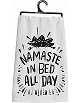 Primitives by Kathy Namaste Dish Towel