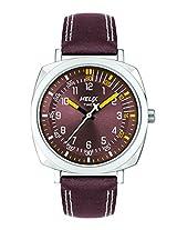 Helix Analog Brown  Dial Men's Watch - TW017HG04
