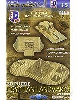 Daron Egyptian Pyramids 3D Puzzle 38-Piece