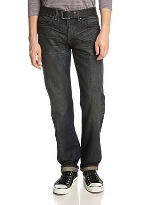 Paper Denim & Cloth Men's Relaxed Straight Jean (1 Year/Dark Wash)