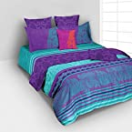 Purple And Green Bed Linen Set from Tangerine