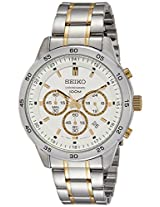 Seiko Analog White Dial Men's Watch - SKS523P1