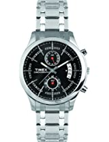 Timex Fashion Chronograph Black Dial Men's Watch - M203