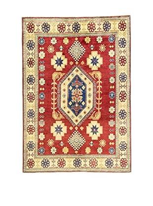 L'Eden del Tappeto Teppich Uzebekistan rot/mehrfarbig 157t x t216 cm
