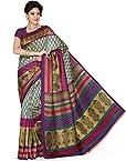 Deepika Saree Raw Silk Saree (6948-B _Multi-Coloured)