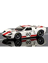 Scalextric C3727 Ford Gt40 1966 Le Mans Slot Car (1:32 Scale)