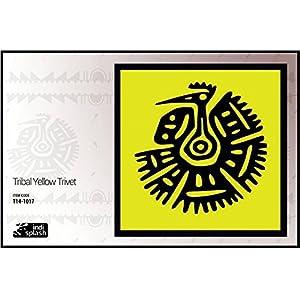 Indispash Tribal Yellow Trivet