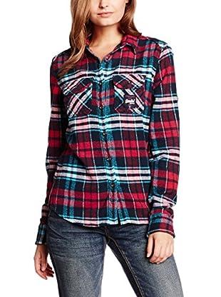 Superdry Bluse klassisch Milled Flannel
