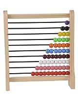 Skillofun Wooden Abacus Junior (1-10), Multi Color