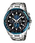 Casio Silver Stainless Steel Analog Men Watch - EF-539D-1A2VDF