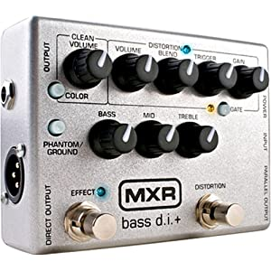 MXR CUSTOM LIMITED BASS DI+