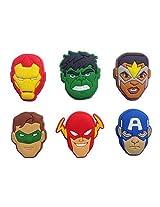 Avengers Fridge Magnets 6 Pcs Set #2