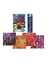 Paw Patrol Sticker Book with Beginner Pencils with Over 300 Stickers!