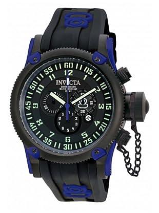 Invicta 10180 - Reloj de Caballero cuarzo silicona Azul / Negro