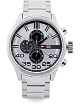 Tommy Hilfiger Heather Analog Watch - For Men Silver - NTH1790786J