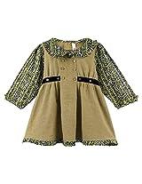 Oye Full Sleeves Peterpan Collar Dress